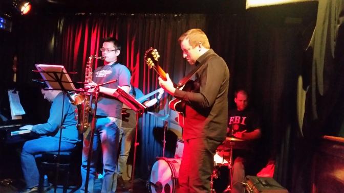 Ensemble performing in JJ Smyth's (June 2016)